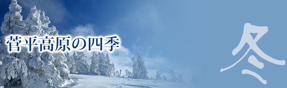 菅平高原の冬